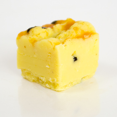 Passionfruit Swirl Fudge